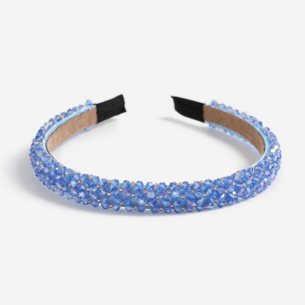 16-Serre-tête en textile et perles, Topshop