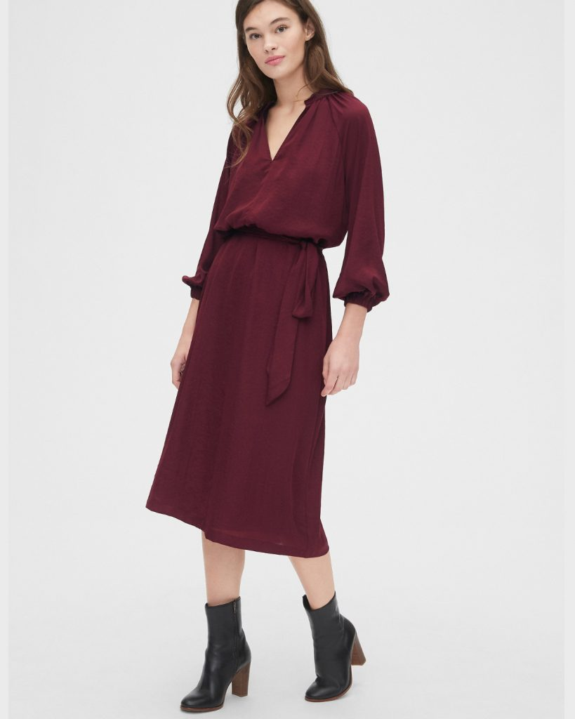 Robe en polyester, GAP