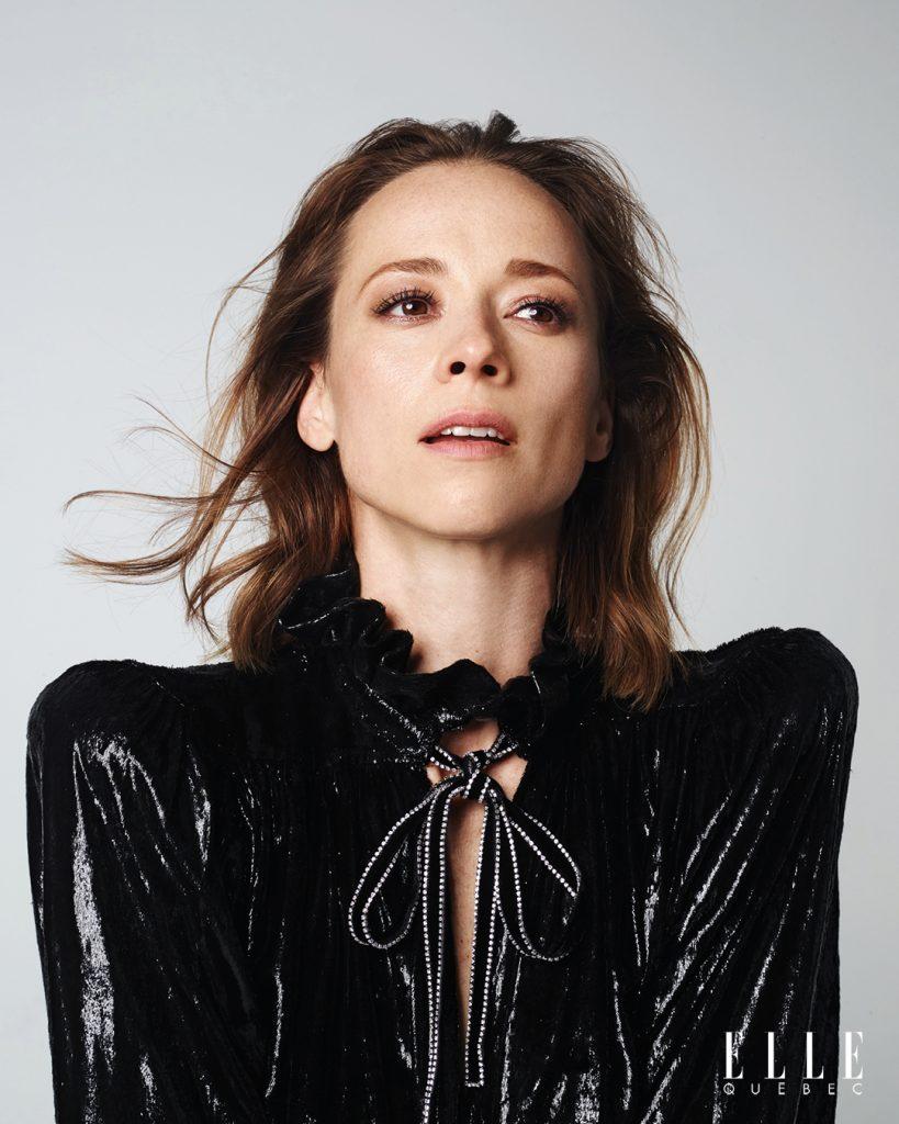 Karine Vanasse ELLE Québec décembre 2019