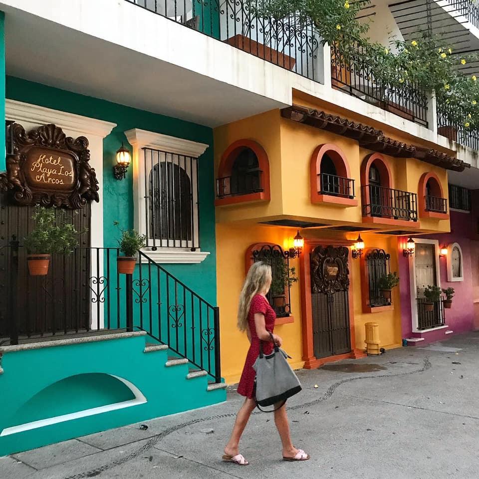 Mexique La zone romantique du quartier Vieux Vallarta Zona Romantico