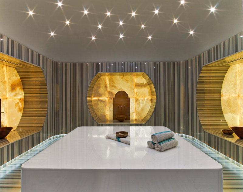 Le hammam de l'hôtel Raffles Istanbul