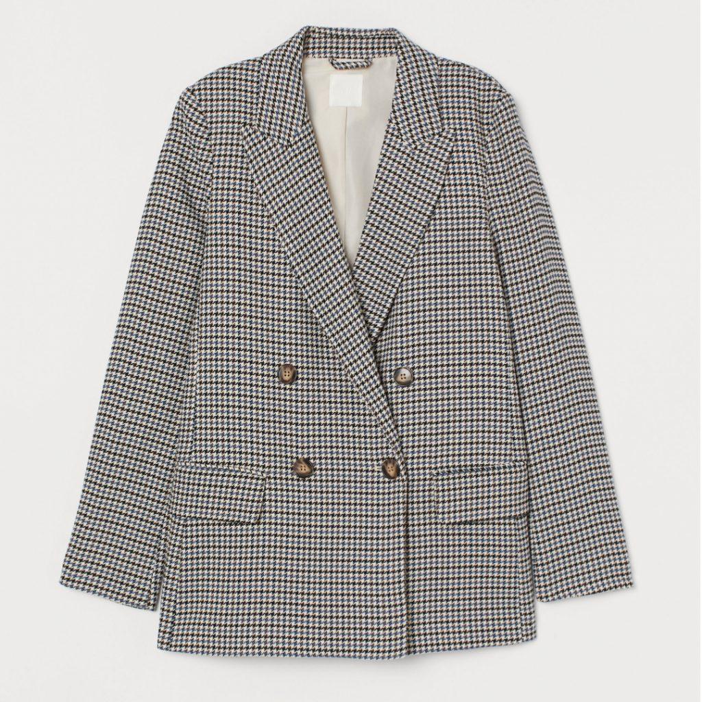 Blazer en polyester et viscose, de H&M