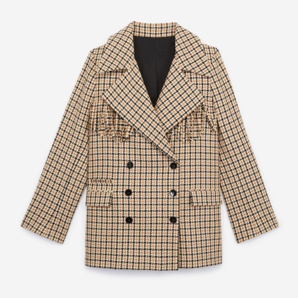 Blazer en coton et laine, de The Kooples
