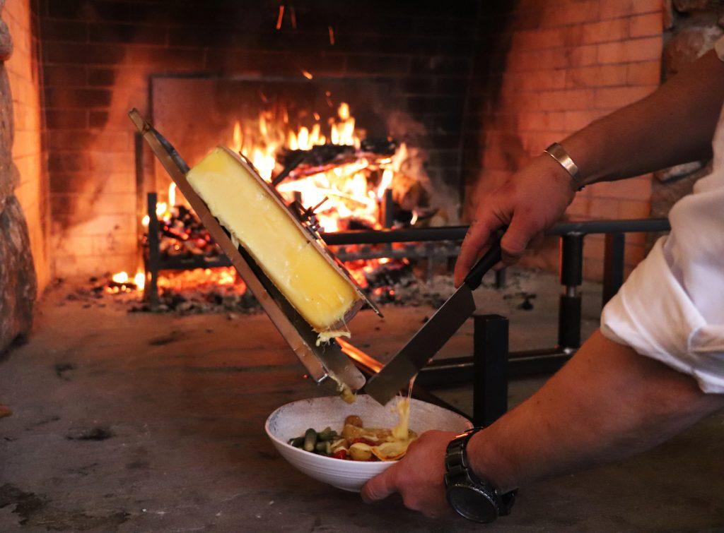 La raclette au WhistlePig Pavilion
