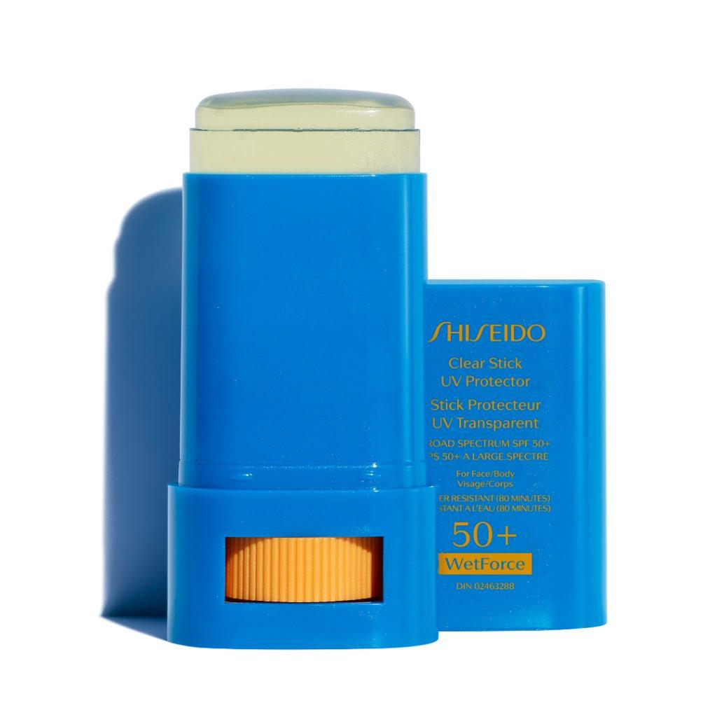 Stick protecteur UV transparent FPS50+, de Shiseido