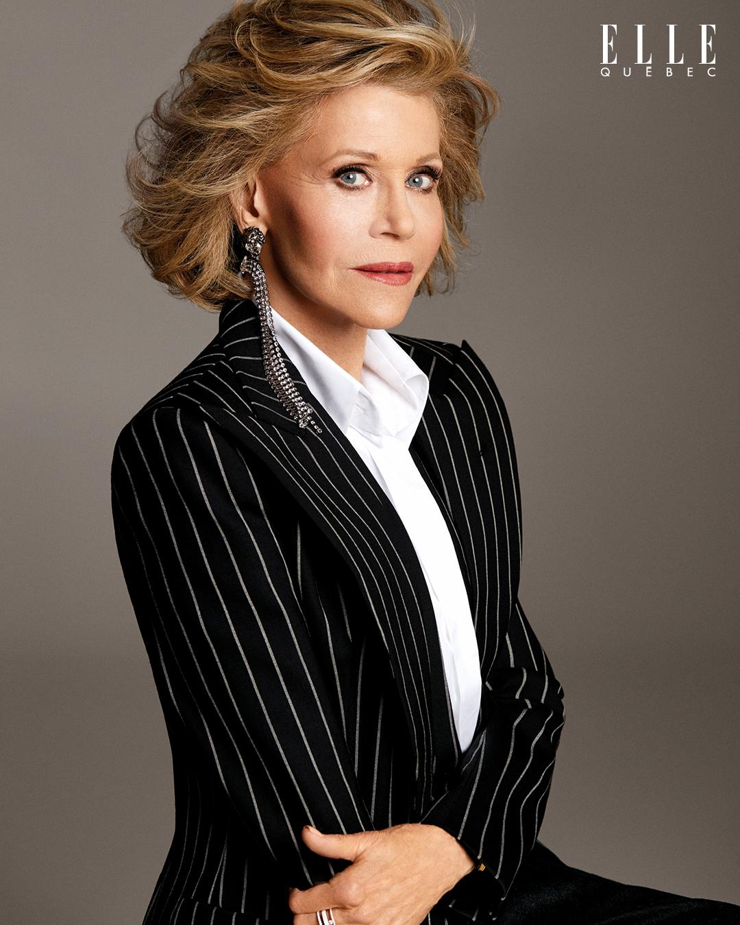 Jane Fonda ELLE Québec Mars 2020