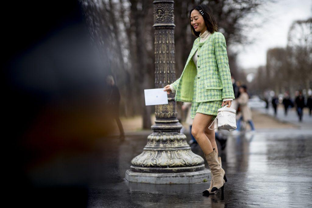 Street style : 15 façons de porter la jupe en hiver