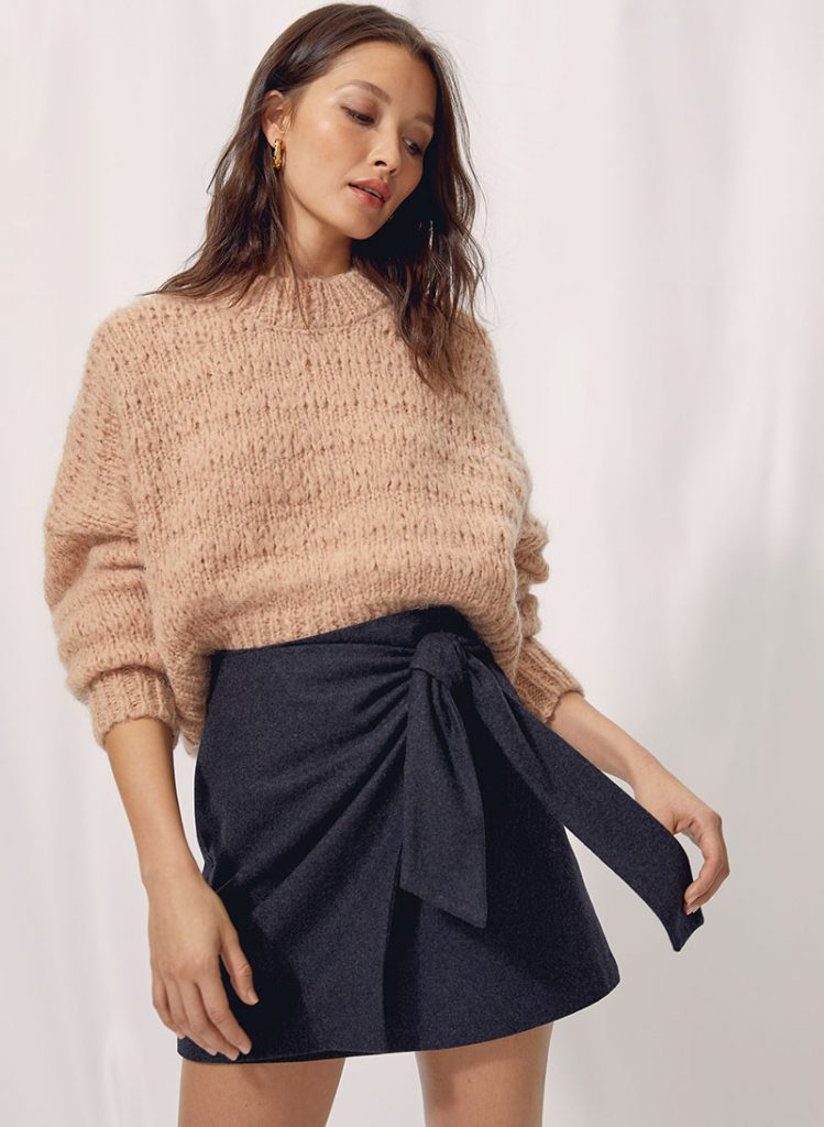 Shopping jupes hiver 2020 - Aritzia
