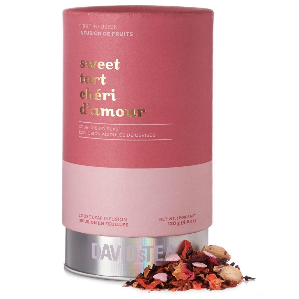 Shopping Saint Valentin Infusion en feuilles Chéri d'amour Dsvids Tea