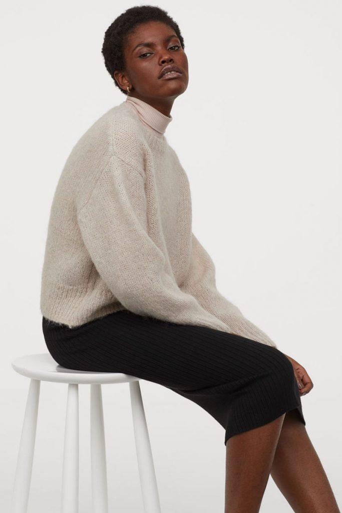 Shopping jupes hiver 2020 - H&M
