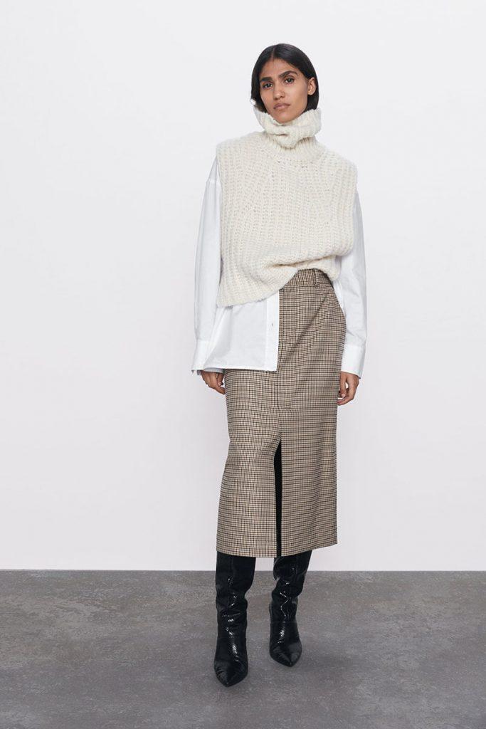 Shopping jupes hiver 2020 - Zara