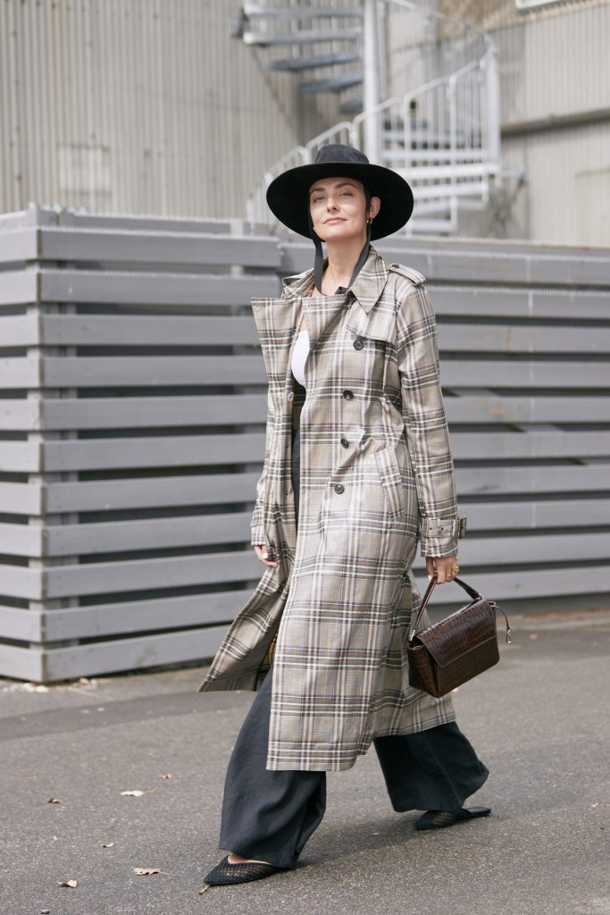 street style trench printemps 2020