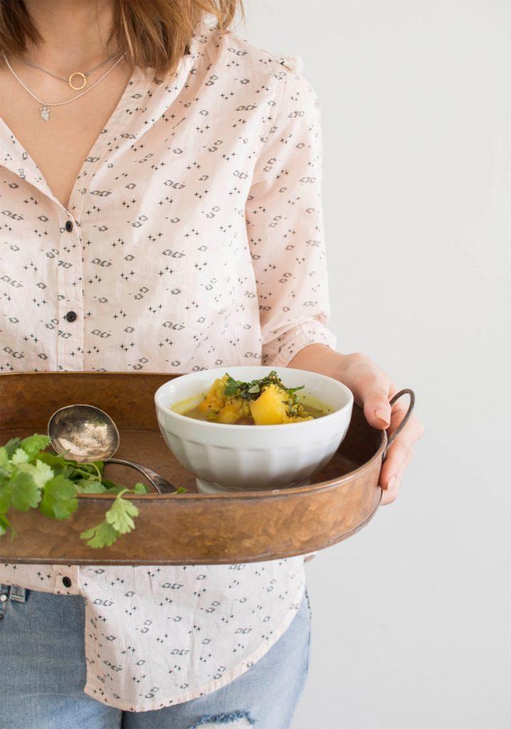 La soupe aux légumes, de Trois Fois par Jour
