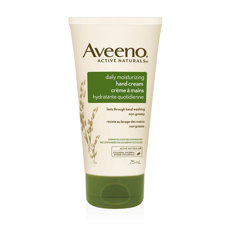 creme mains quotidienne aveeno