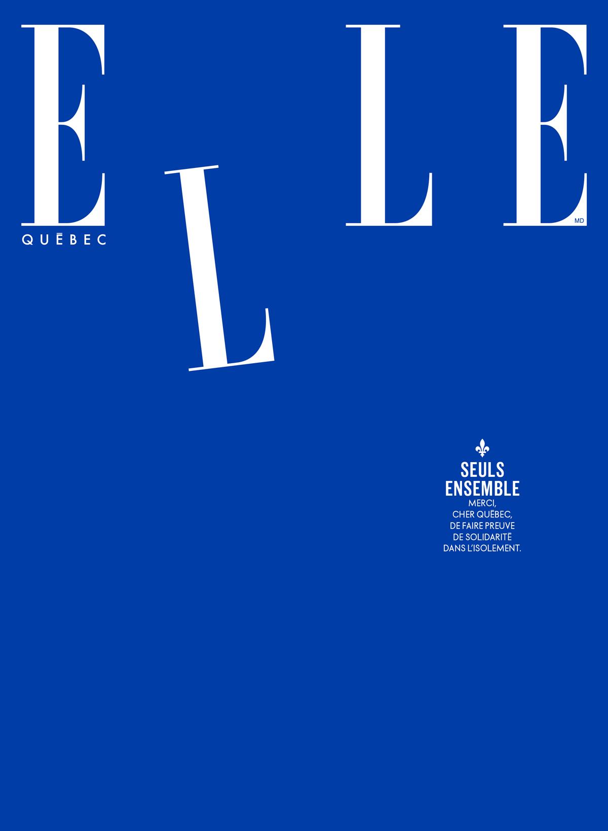 Magazine ELLE Québec Mai 2020