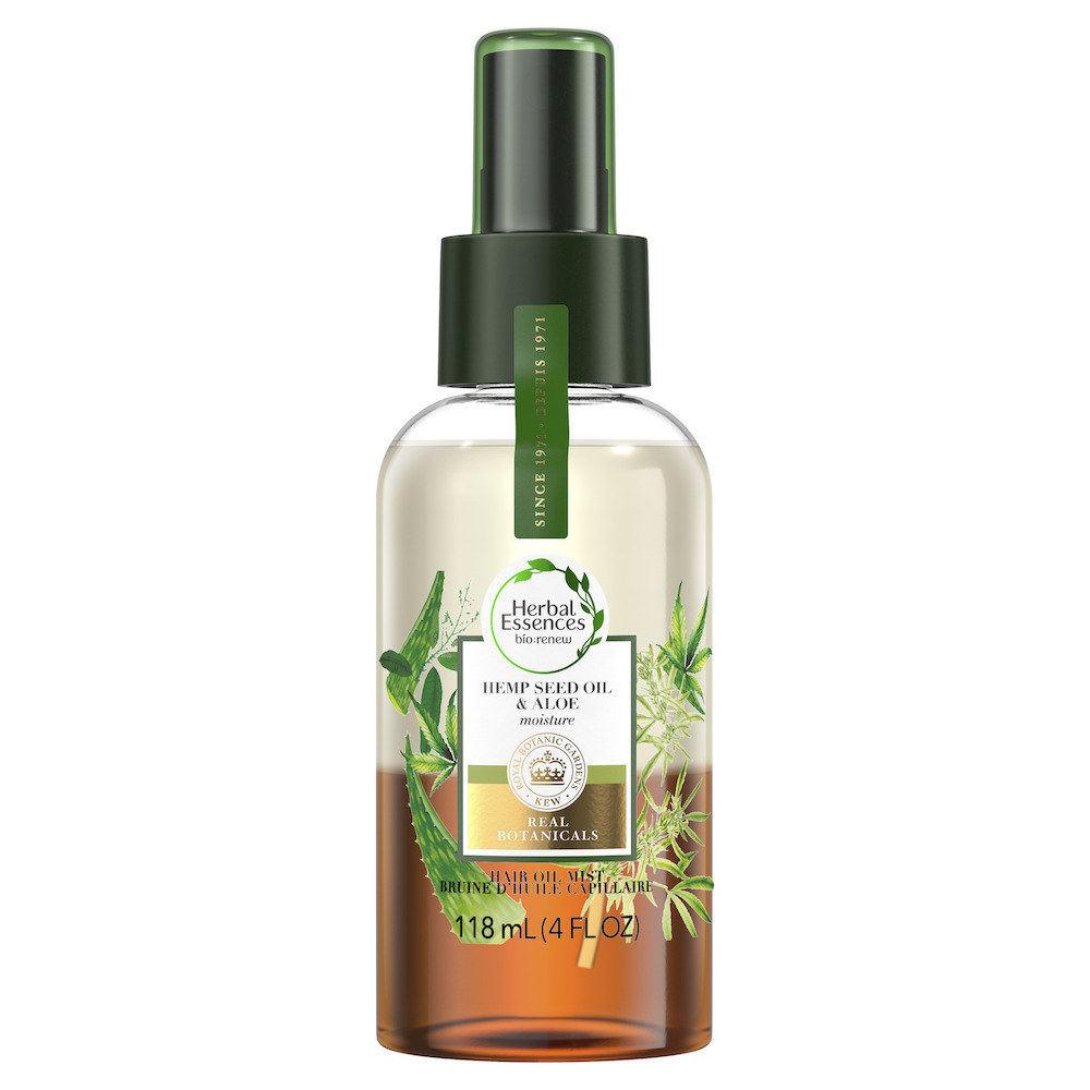 huile capillaire chanvre aloès bio renew herbal essences
