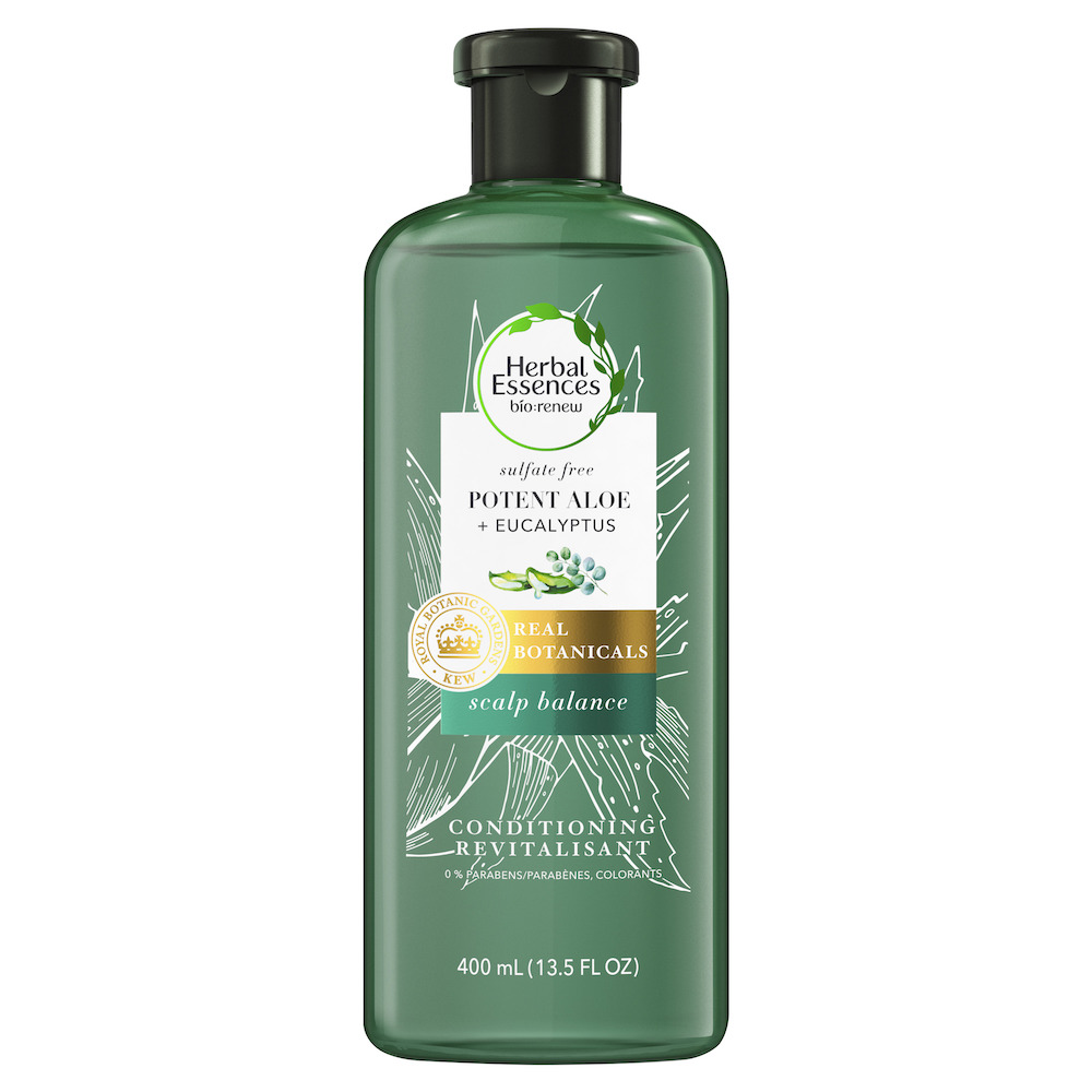 revitalisant cuir chevelu équilibré bio renew herbal essences