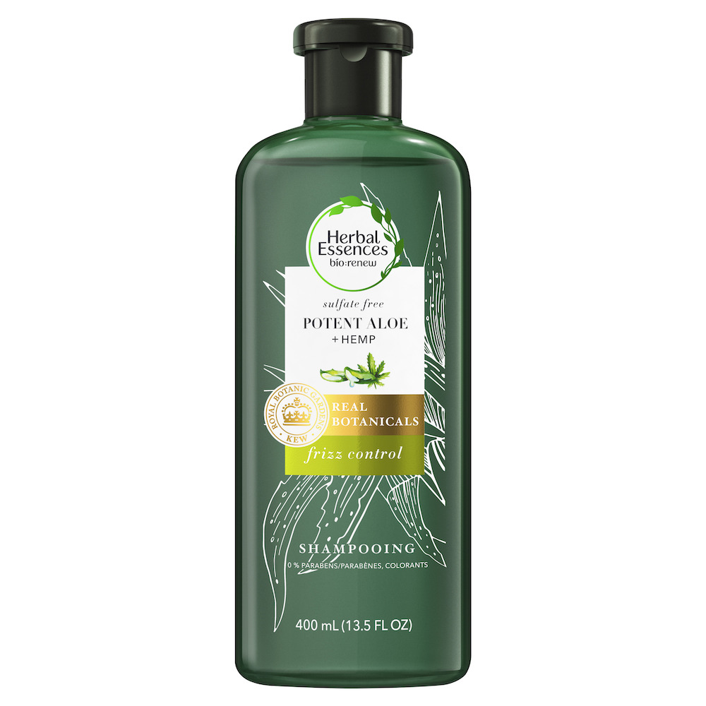 shampoing frizz control bio renew herbal essences