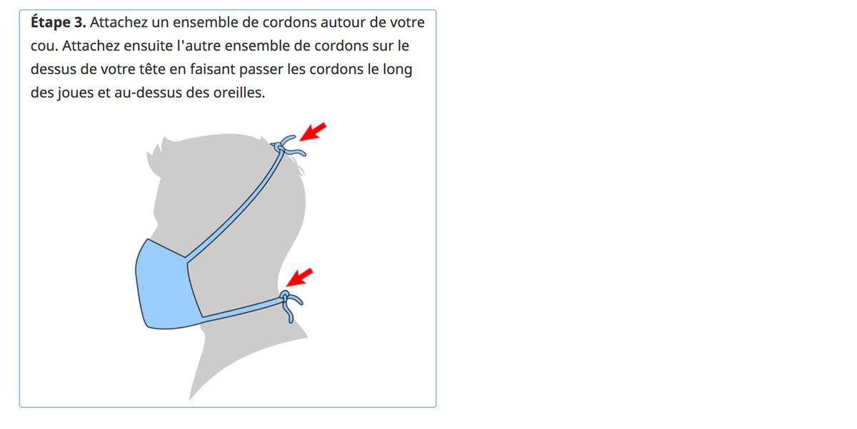 COVID-19: 3 façons de fabriquer un masque en tissu maison