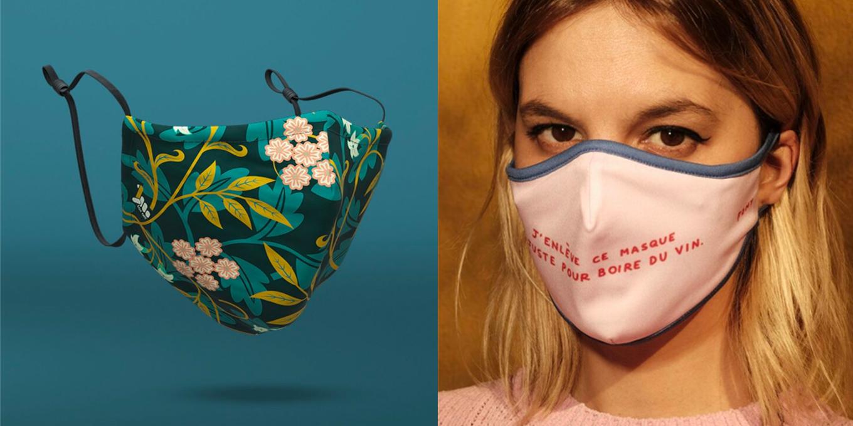 37 masques en tissu conçus au Québec