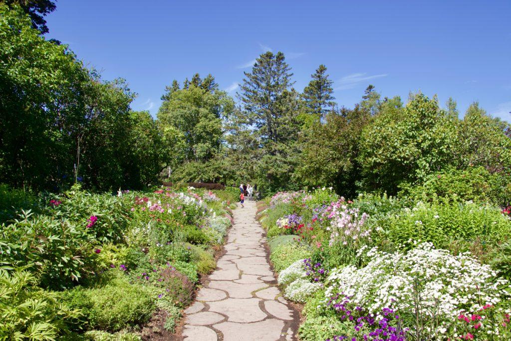 Les Jardins de Métis, à Grand-Métis