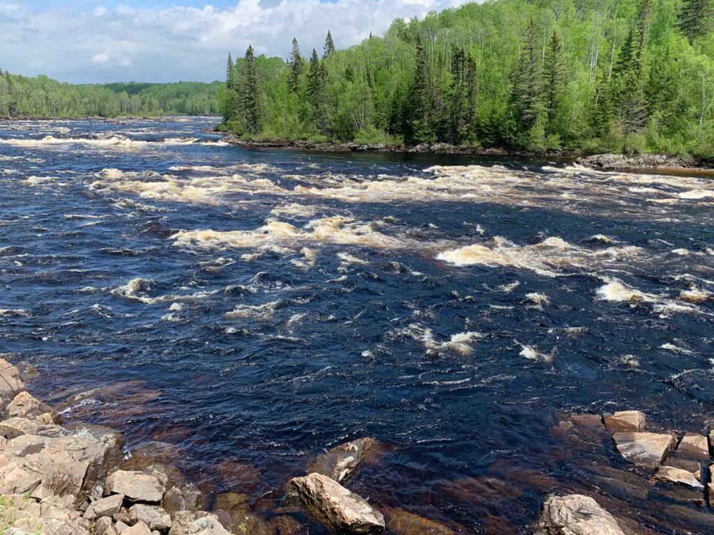 Parc régional des Grande-Rivières, au Lac-Saint-Jean