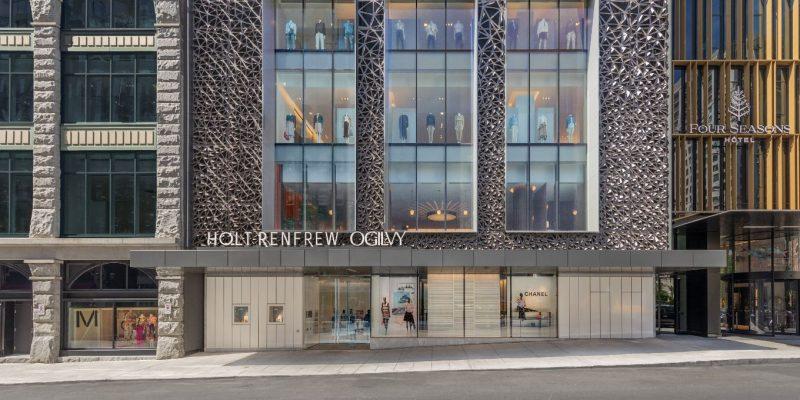 VISITE GUIDÉE: HOLT RENFREW OGILVY OUVRE UN MAGASIN PHARE À MONTRÉAL