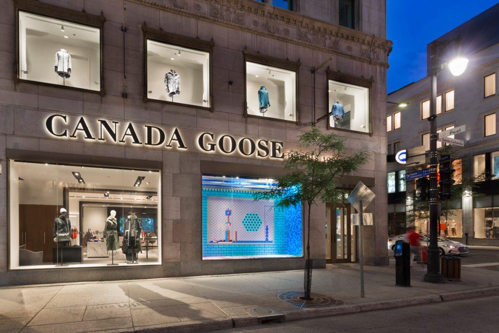 Canada Goose rue Sainte-Catherine