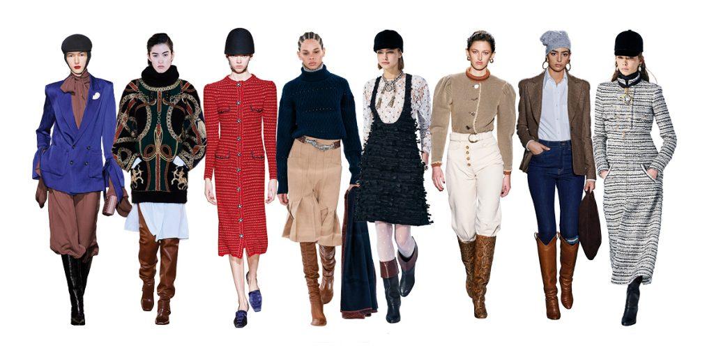Les 10 tendandes mode de la saison