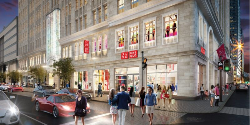 Uniqlo inaugura son premier magasin au Quebec