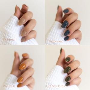 BKIND lance de nouvelles teintes de vernis à ongles inspirées du Québec