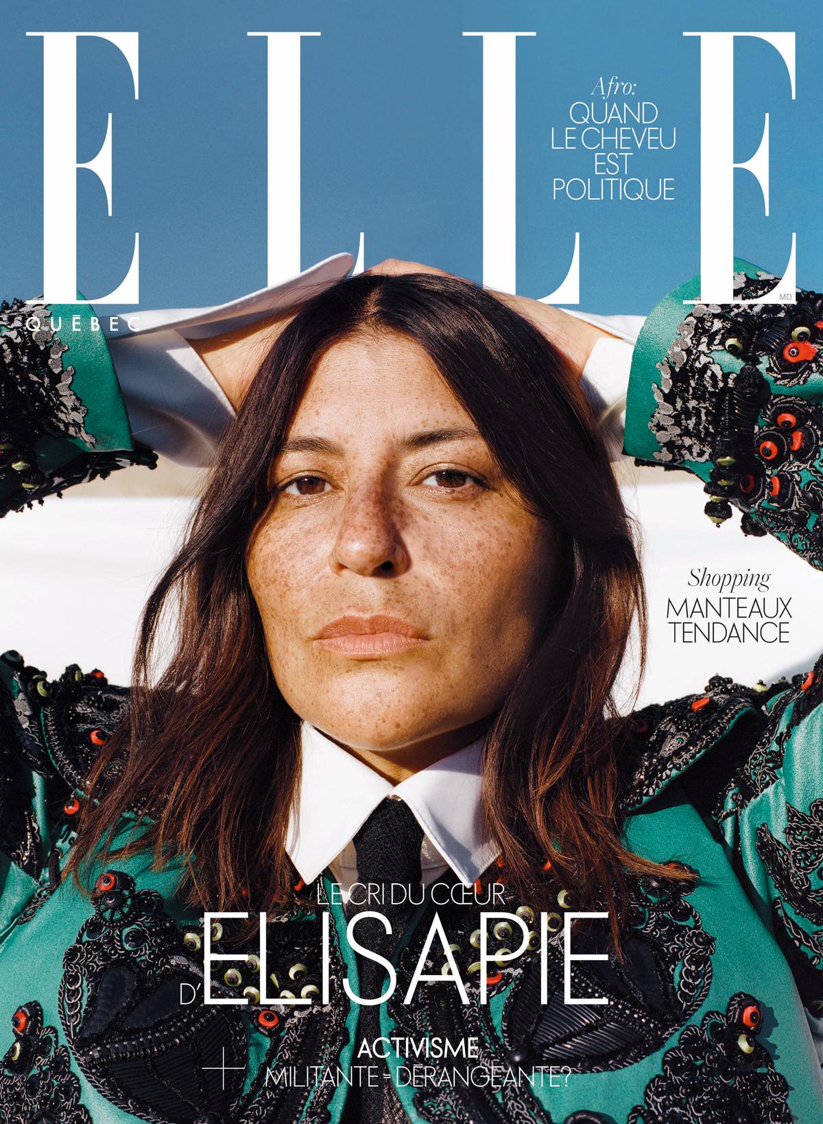Elisapie couverture ELLE Québec Octobre 2020