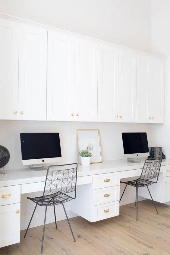 Bureau à la maison: 25 idées pour vous inspirer