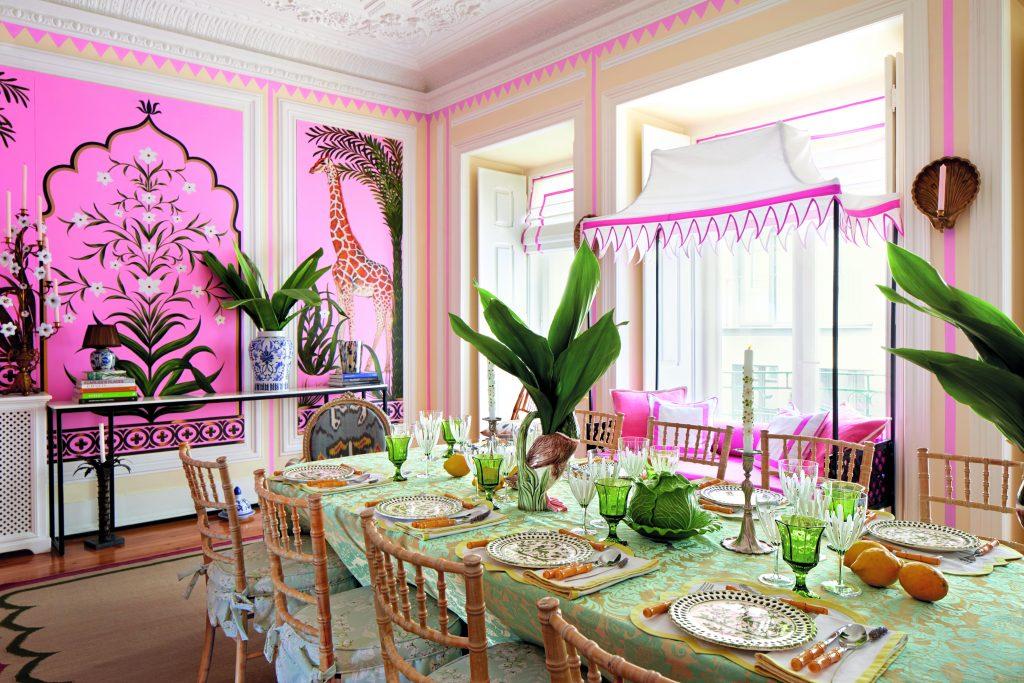 Déco inspirante: un appartement lisbonnais haut en couleur