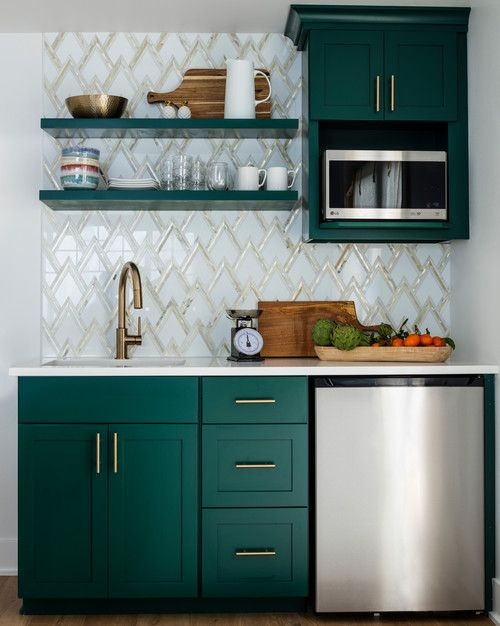 Des petites cuisines astucieuses et élégantes