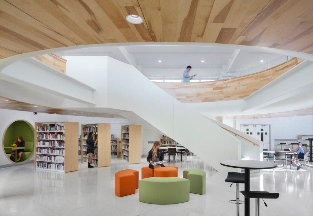 Bibliothèque du Collège Saint-Jean-Eudes