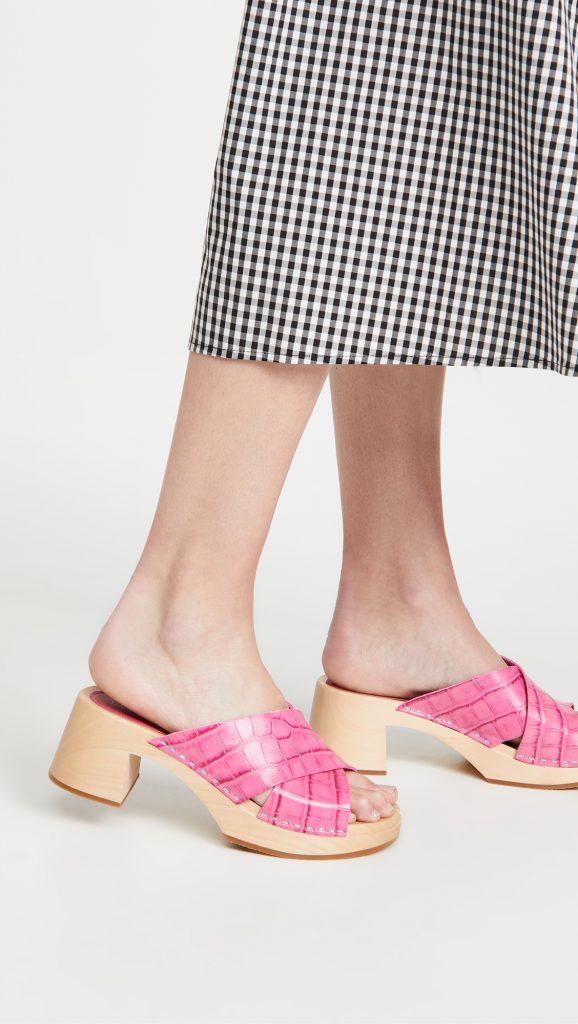 Shopping: les mules «sabots», tendance phare du printemps-été 2021