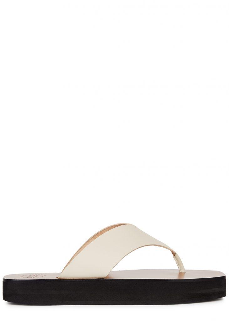 Tendances: 10 sandales plates ou à petits talons pour l'été 2021