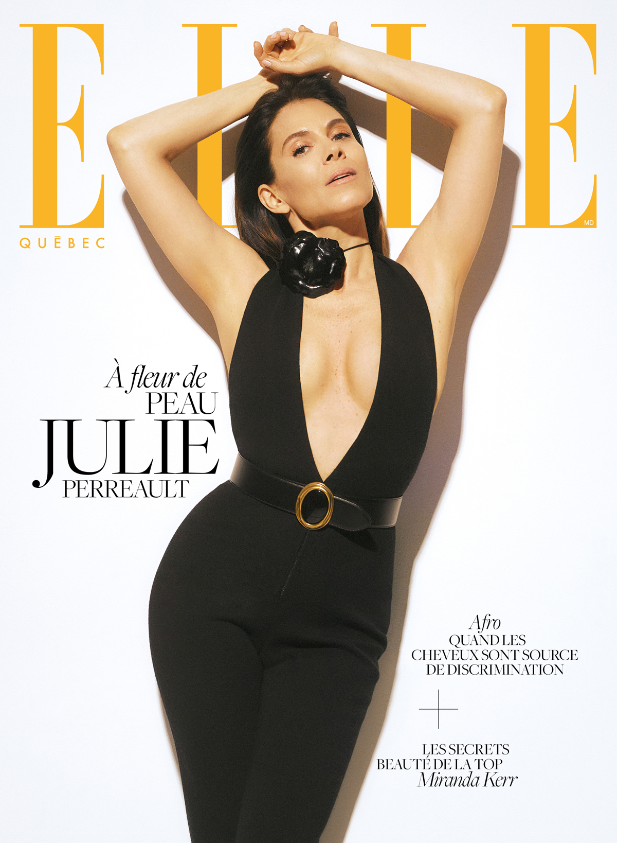 Julie Perreault x ELLE Québec