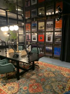Un studio à la maison pour Jay Du Temple