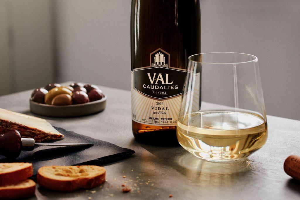 Le vin Vidal du vignoble Val Caudalies