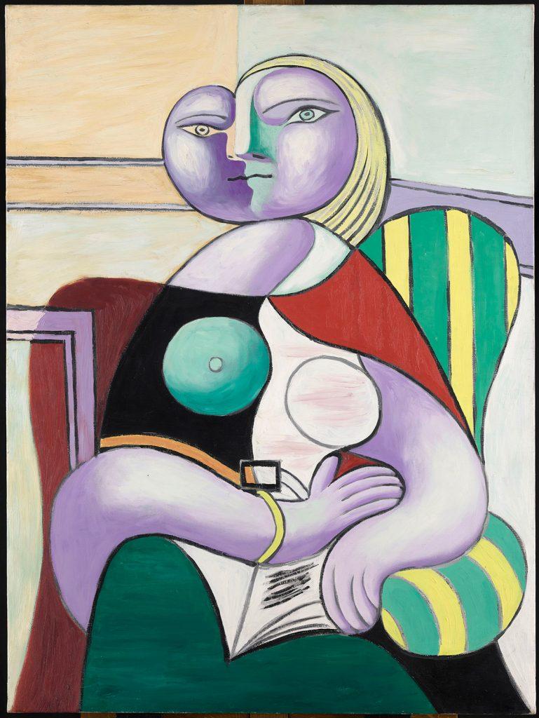 Pablo Picasso. La lecture, 1932.