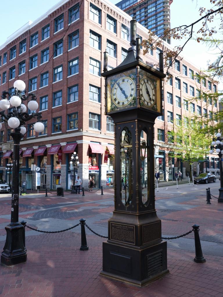 L'horloge à vapeur de Gastown