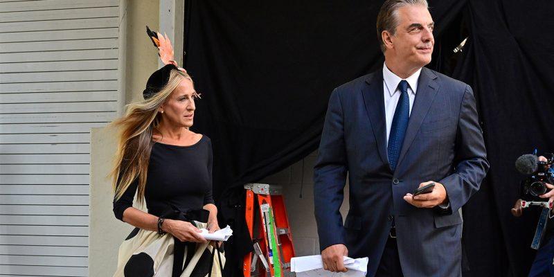 Carrie-et-Mr-Big-reunis-sur-le-tournage