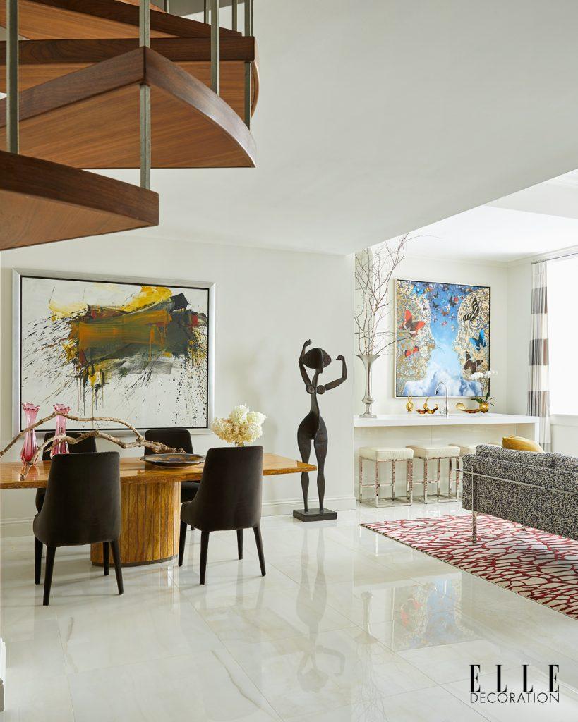 Dans l'appartement du designer d'intérieur Garrow Kedigian