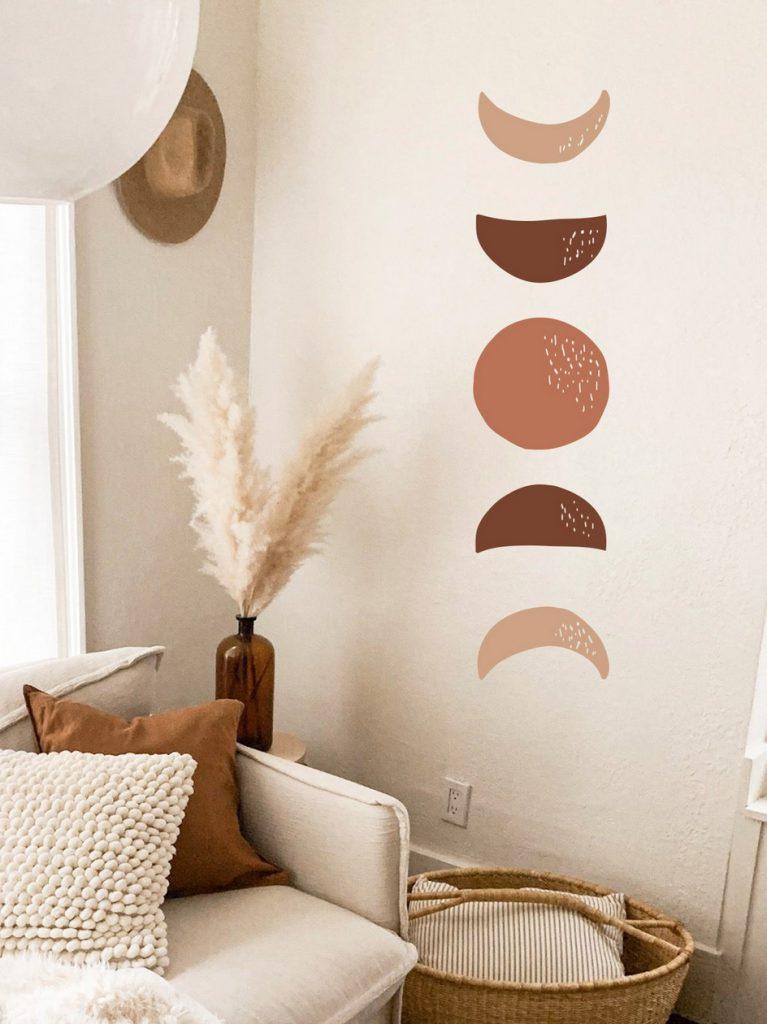 Adhésifs muraux : 5 idées de décors inspirants